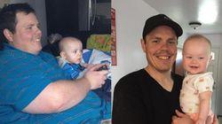 이 아빠가 100kg를 뺀 이유는 아이
