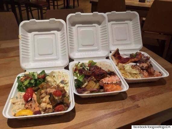 영국에서 레스토랑이 팔고 남은 음식을 싸게 살 수 있는 어플이