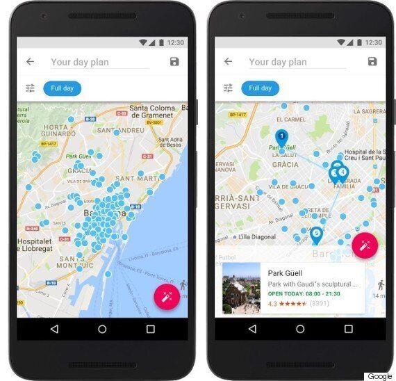 구글이 또 하나의 여행 필수앱 '구글 트립스'를 공개했다
