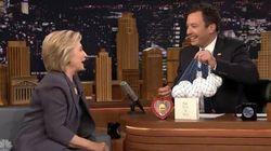 힐러리가 트럼프와의 인터뷰를 꼬집으며 지미 팰런에게 한 방