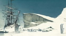 르포르타주 만화가, 남극 운전사가