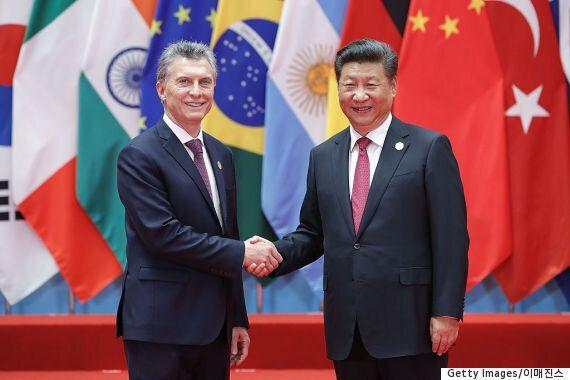 시진핑 중국 국가주석이 아르헨티나 대통령에게 뜬금없는 부탁을