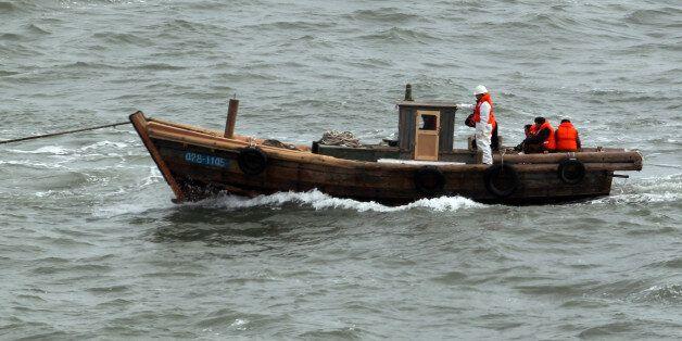2011년 2월 서해상에서 표류해 남하한 북한 주민 27명(남성 9명, 여성 18명)이 타고 왔던 5t급 소형