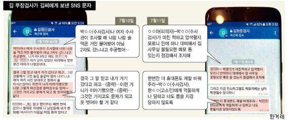 잘나가던 '여의도 저승사자' 김 부장검사의 스폰서 사건 내막