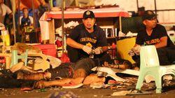 필리핀 다바오에서 폭탄테러로 80명이 넘는 사상자가