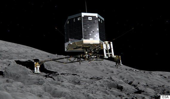 혜성탐사위성 로제타가 잃어버린 착륙선 파일리를 2년 만에