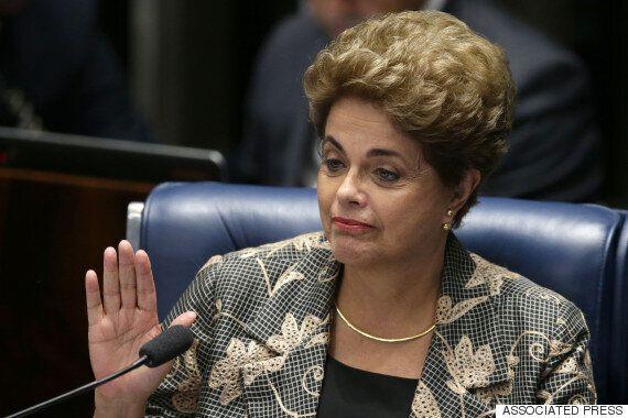 지우마 호세프 브라질 대통령 탄핵안이