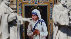 테레사 수녀가 가톨릭 '성인'의 반열에