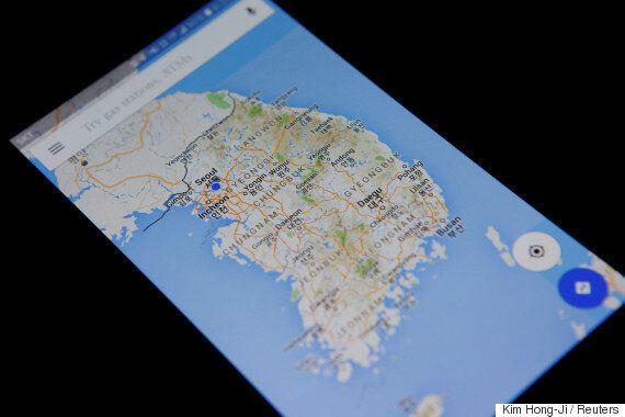 정부가 구글 지도데이터 반출 요청을 재심의하기로