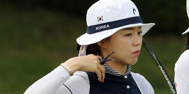리우올림픽 메달리스트들이 국내 양궁대회 개인전에서 메달을 하나도 못