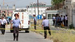 키르기스스탄의 중국 대사관에서 자폭 테러가