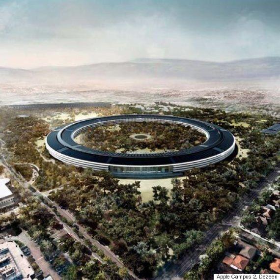 애플, 구글, 페이스북의 캠퍼스는 정말 좋은 미래를