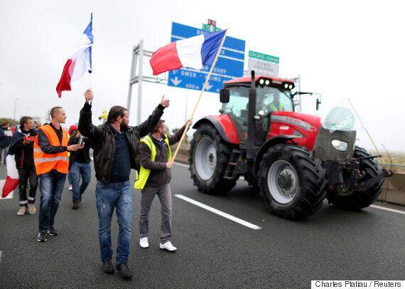 프랑스 칼레 주민들이 '우리도 힘들다'며 난민캠프 철거 시위에