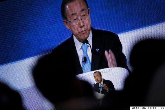 '실패한 유엔사무총장이라고 생각하는가?'라고 묻자 반기문은 단호하게