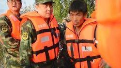 중국이 무인기까지 동원하여 북한의 수재민을