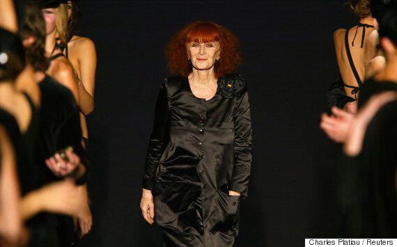 디자이너 소니아 리키엘, 86세의 나이로
