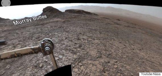360도 사진에 포착된 화성은 지구라고 착각할 정도로