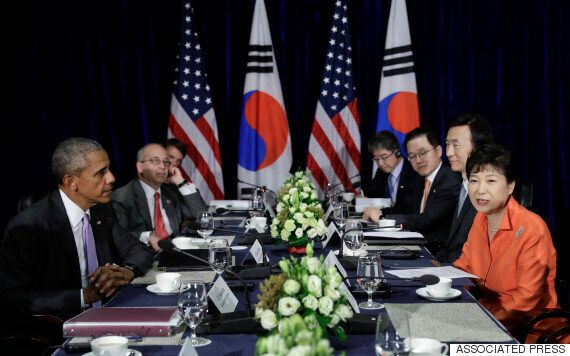 박근혜와 오바마는 한미동맹의 굳건함을 재차 확인했다. '중국'이라는 숙제도