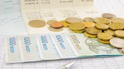 한국의 가계부채는 이제 역대 최대