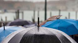 9월 3일 토요일에는 곳곳에 비가 내릴