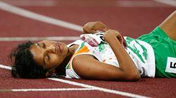 인도 선수는 협회의 실수로 물도 못 마시고 마라톤을