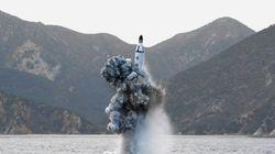 북한이 새벽에 SLBM 1발을