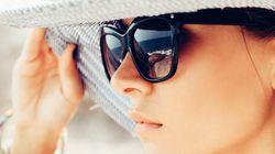 눈가 주름을 방지하는 자외선 차단방법