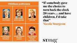 영국 신문이 '자녀 없는 여성 정치인' 인포그래픽을 실었다가 비난을