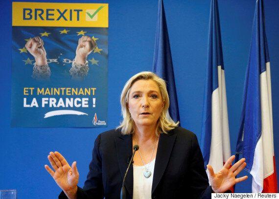 프랑스 극우정당 국민전선 르펜 대표가 'EU 탈퇴 국민투표 실시'를