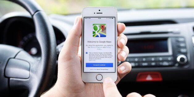 정부는 구글의 지도데이터 반출 요청을 불허할