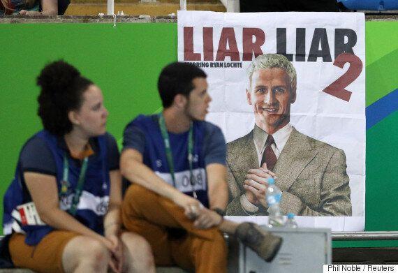 브라질에 억류된 미국 수영선수들의 거짓말이 드러나고