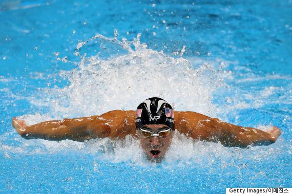 '수영 황제' 마이클 펠프스, 통산 22번째 금메달로 올림픽 역사를 새로