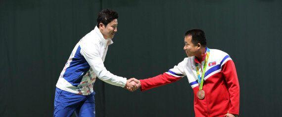 진종오가 북한 사격 선수들에 대한 이야기를