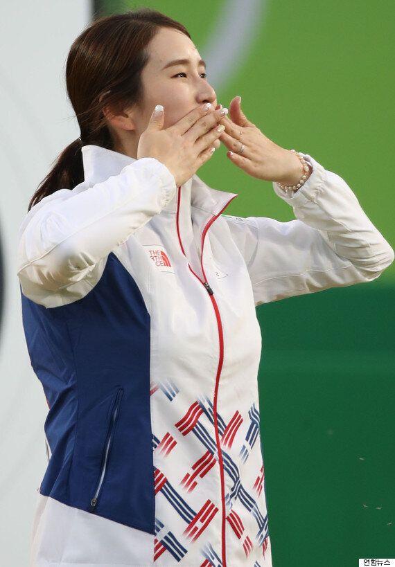 기보배, 개인전 동메달로 리우 올림픽을