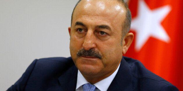Turkey's Foreign Minister Mevlut Cavusoglu addresses the media in Ankara, Turkey, July 29, 2016. REUTERS/Umit