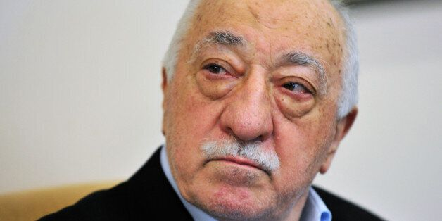 Islamic cleric Fethullah Gulen speaks to members of the media at his compound, Sunday, July 17, 2016,...