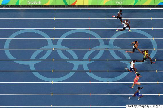 우사인 볼트가 100m 결승전서 누구보다 여유로웠다는
