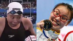 이 중국 수영선수는 2015년에도 흥이