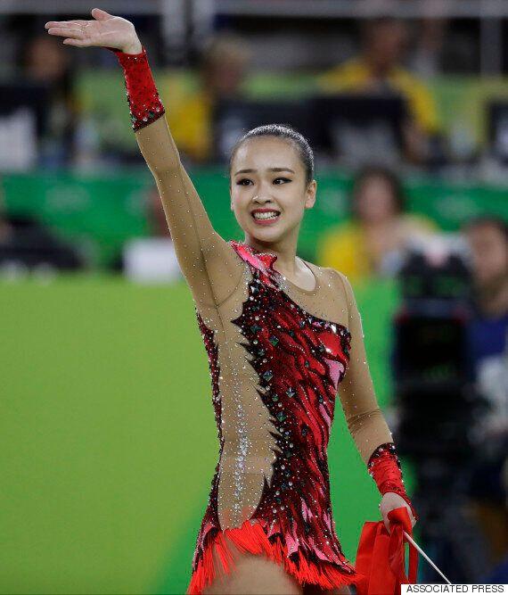 손연재가 올림픽 리듬체조에서 4위를