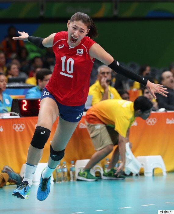 김연경은 러시아전에서 세계 3대 공격수 코셸레바와