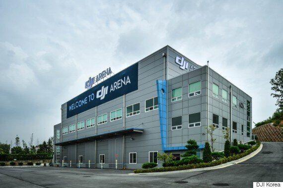 세계 최대 드론 회사 DJI가 세계 최초로 한국에 세운 드론 비행장은 이렇게 생겼다