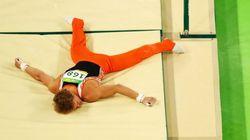 이 선수는 철봉에서 크게 떨어지고도 세계 7위를