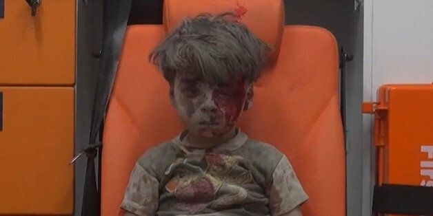 FILE - In this frame grab taken from video provided by the Syrian anti-government activist group Aleppo...
