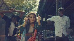 씨엘이 미국 데뷔 싱글을 발표했고, 미국 사람들이