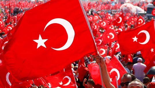 100만명이 모인 터키 '에르도안 집회' (사진,