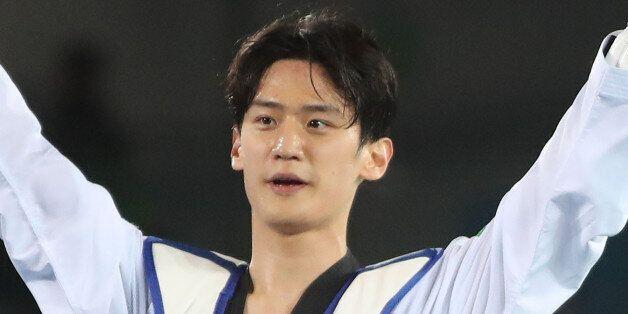 태권도 이대훈이 2회 연속 올림픽 메달을 목에