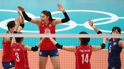 한국 여자배구 대표팀이 아르헨티나에 승리를 거뒀다