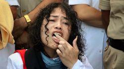 이 여성이 무려 '16년간의 단식 투쟁'을 끝내는 순간(사진,