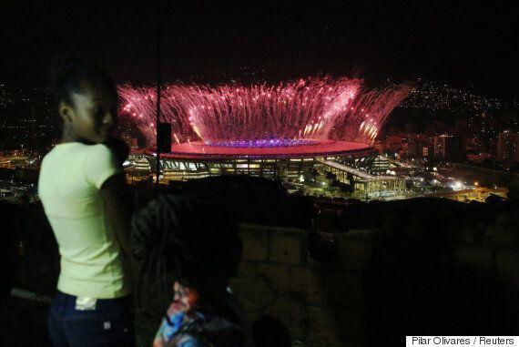 리우 빈민가 '파벨라'에 올림픽의 즐거움은