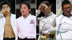 리우 올림픽에서 금메달 기대주들이 줄줄이 탈락했다